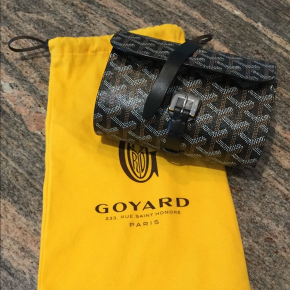 promo code c4e87 807be Goyard Portable Watch Case with 2 Holders